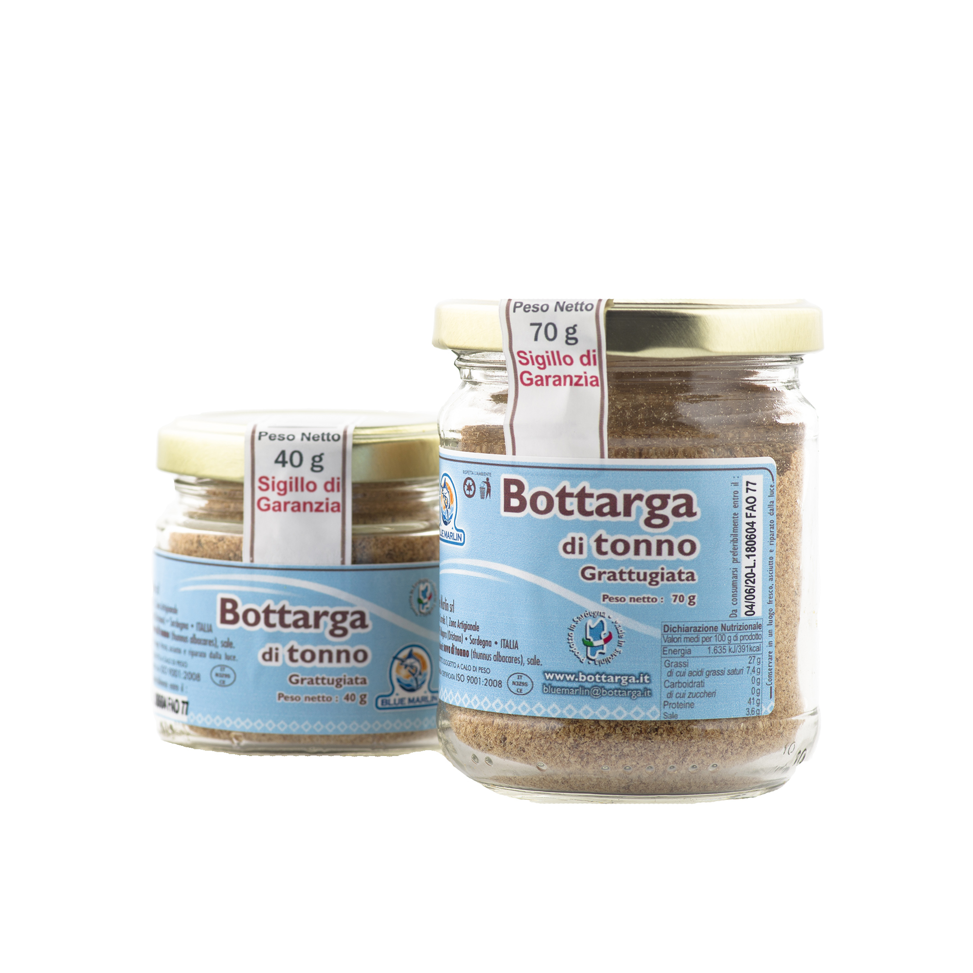 bottarga di tonno in vasetto